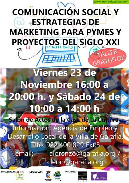 """Taller """"Comunicación Social y estrategias de marketing para Pymes y proyectos del siglo XXI"""""""
