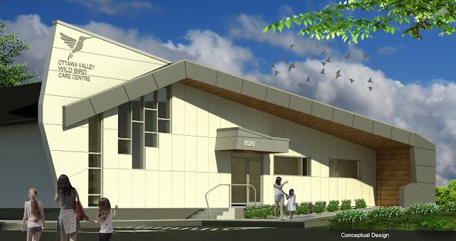 Wild Wednesday: Ottawa Valley Wild Bird Care Centre new building