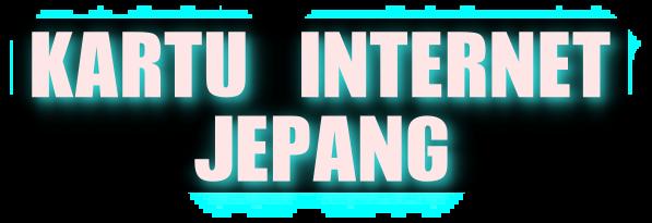 KARTU INTERNET JEPANG