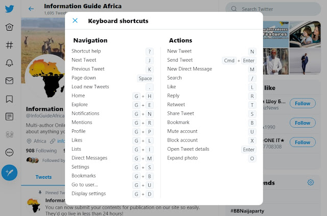 25+ Twitter Keyboard Shortcuts For Social Media Marketers