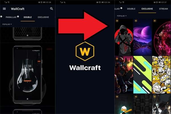 تحميل تطبيق Wallcraft النسخة الذهبية - لتنزيل خلفيات وصور للاندرويد