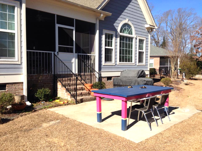 Before pic of patio before diy update-designaddictmom