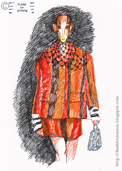 Prada ss 2016 fashion illustration
