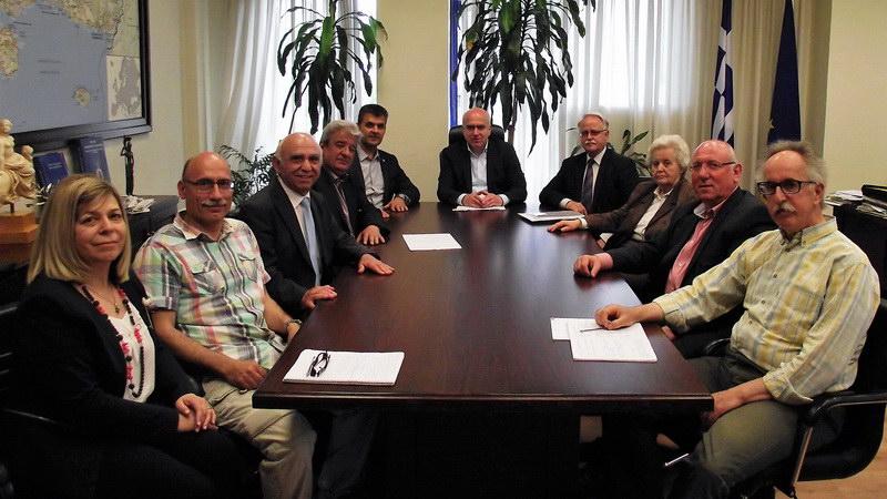 Συνάντηση του Περιφερειάρχη ΑΜ-Θ με τους Προέδρους των Συλλόγων Πολυτέκνων της Περιφέρειας