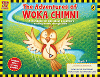 The Adventures of Woka Chimni- Book 1 by Preeti Vyas and Illustrated by Happy Fish (Age: 7+ years)