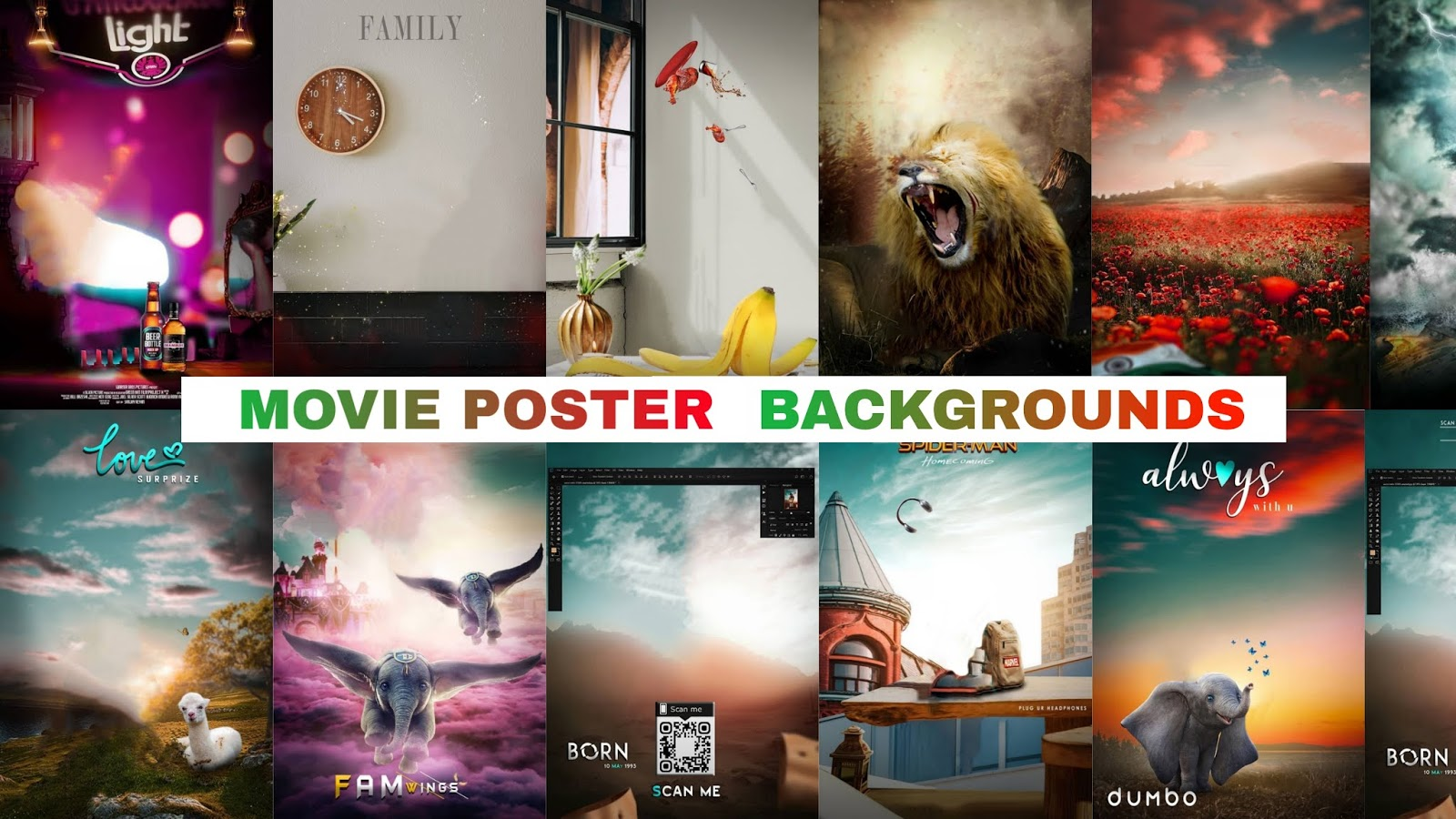 Movie Poster Background Download For Photo Editing Hd Kr