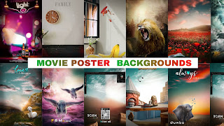 Movie Poster Background Download for Photo Editing