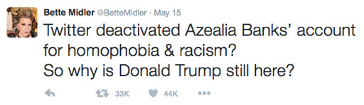 https://twitter.com/BetteMidler/status/731900802818670592