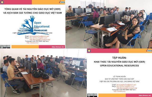 Khóa bồi dưỡng 'Thực hành khai thác tài nguyên giáo dục mở' ở trường Đại học Tiền Giang