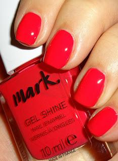 Wendy S Delights Avon Mark Gel Shine Nail Polish Fabulous