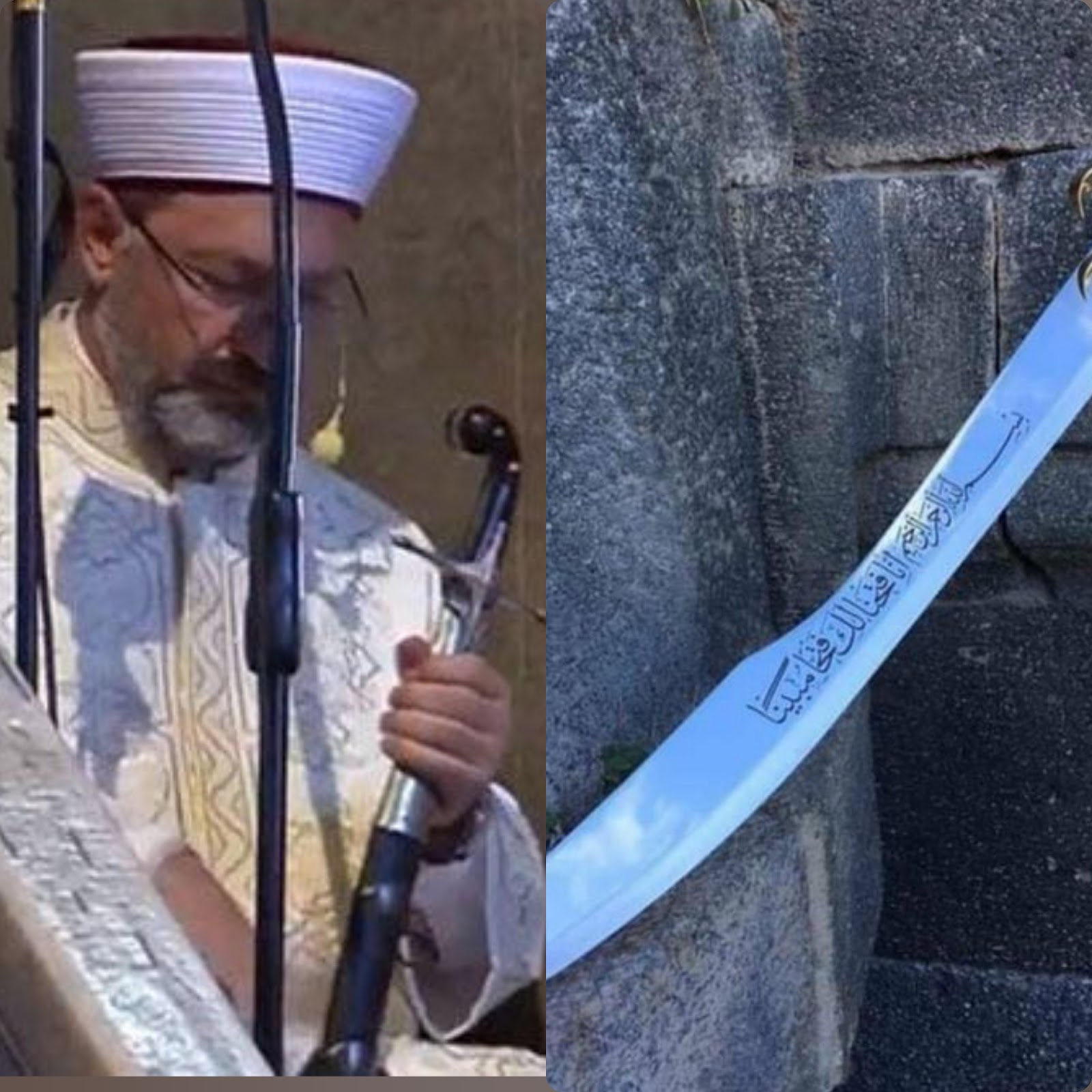 Cerita di Balik Khatib Gunakan Pedang Ottoman Saat Khutbah di Hagia Sophia