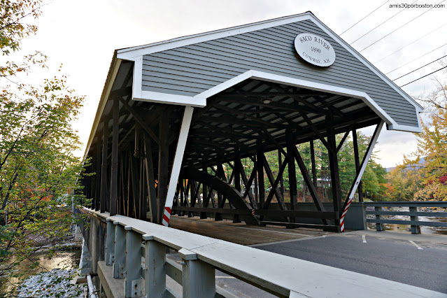 Saco River Covered Bridge en Conway, New Hampshire