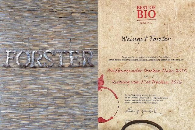 Weingut Forster an der Nahe