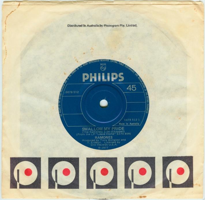 Ramones On Vinyl The Great Swallow My Pride