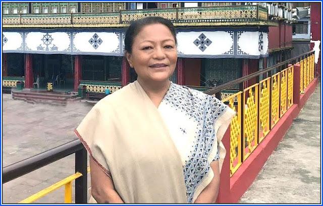 Dil Kumari Bhandari, former Lok Sabha MP from Sikkim