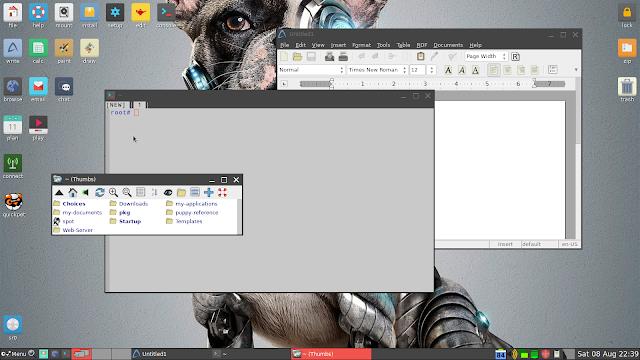 Puppy Linux - Programas