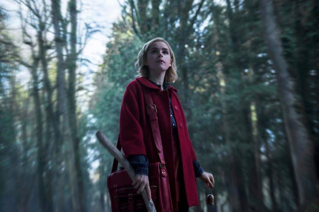 Kiernan Shipka en 'Las escalofriantes aventuras de Sabrina'
