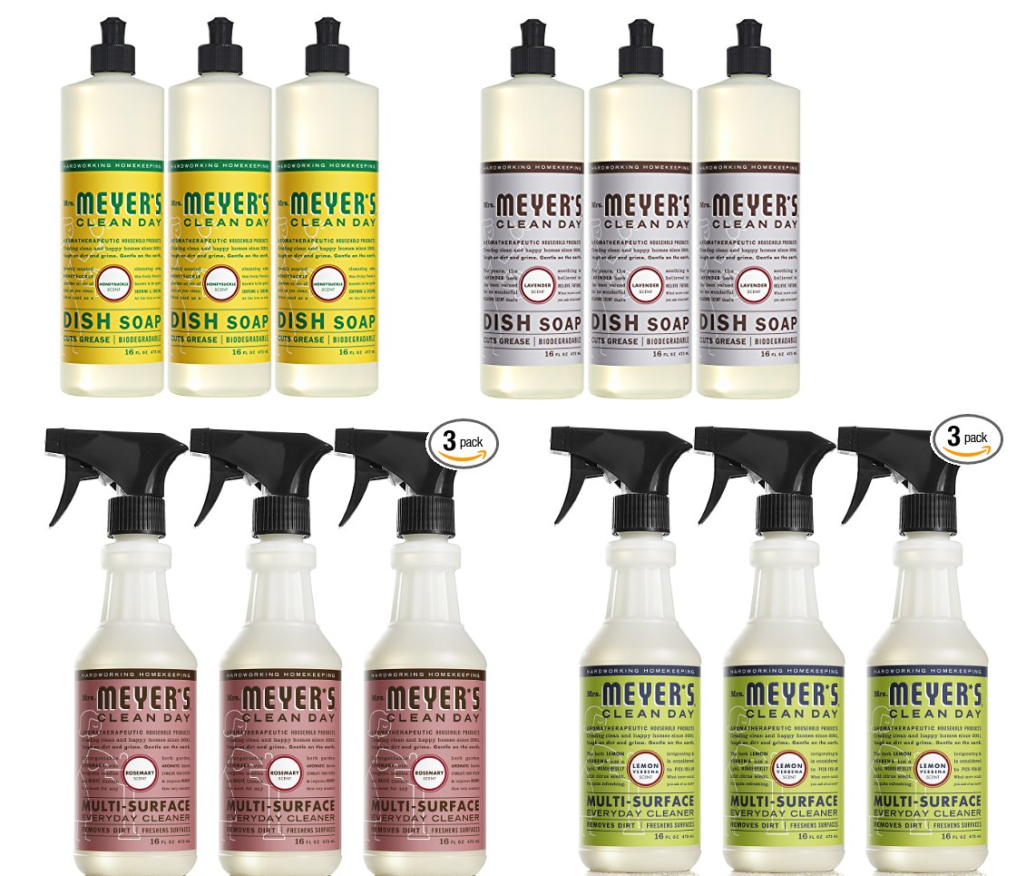 3 bottles of 16oz mrs meyers liquid dish soap 641 reg free shipping or 574 with 5 amazon subscribe u0026 save discounts 3 bottles of 16oz mrs