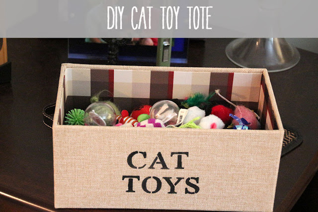 Cat Toy Storage Ideas