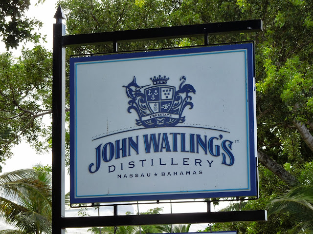 John Watling's distillery sign