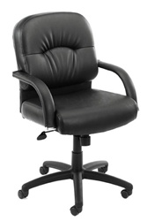 Boss Leather Conference chair