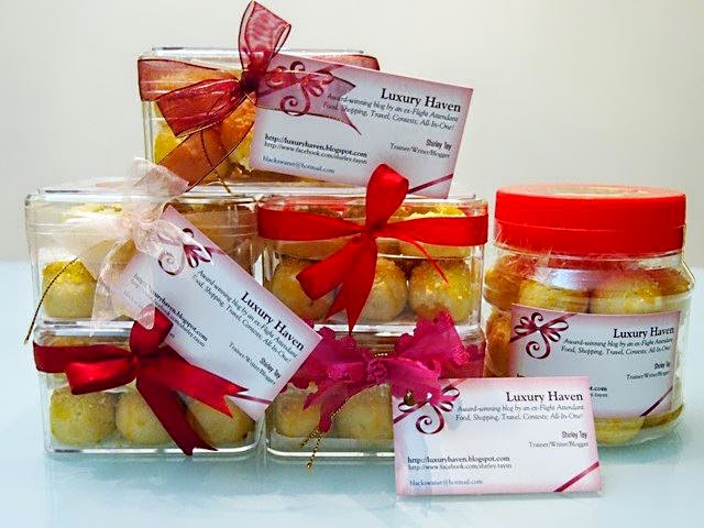 luxury haven tasty chinese new year pineapple tarts