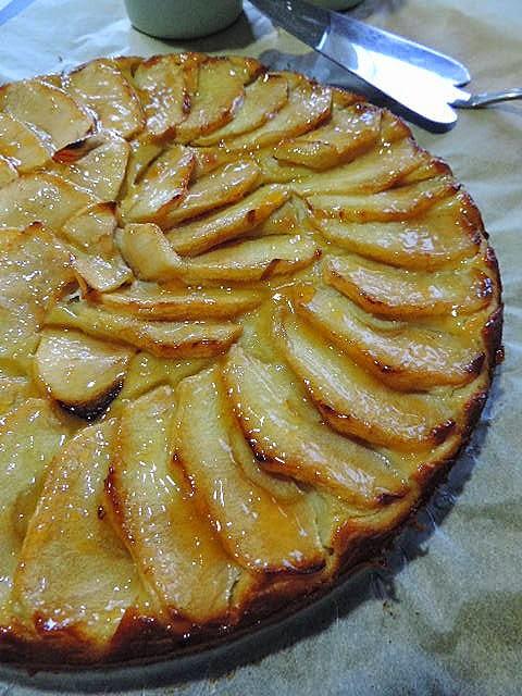 Marronglacè Tarta De Manzana Sin Azúcar