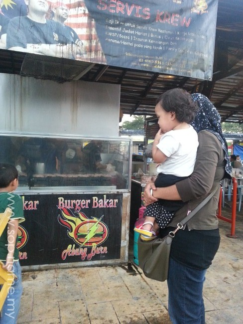 Burger Bakar Abang Burn Ampang
