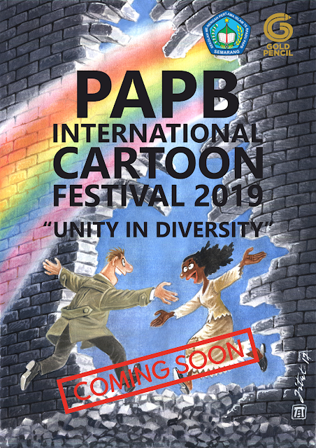 COMING SOON: PAPB International Cartoon Festival 2019, Indonesia