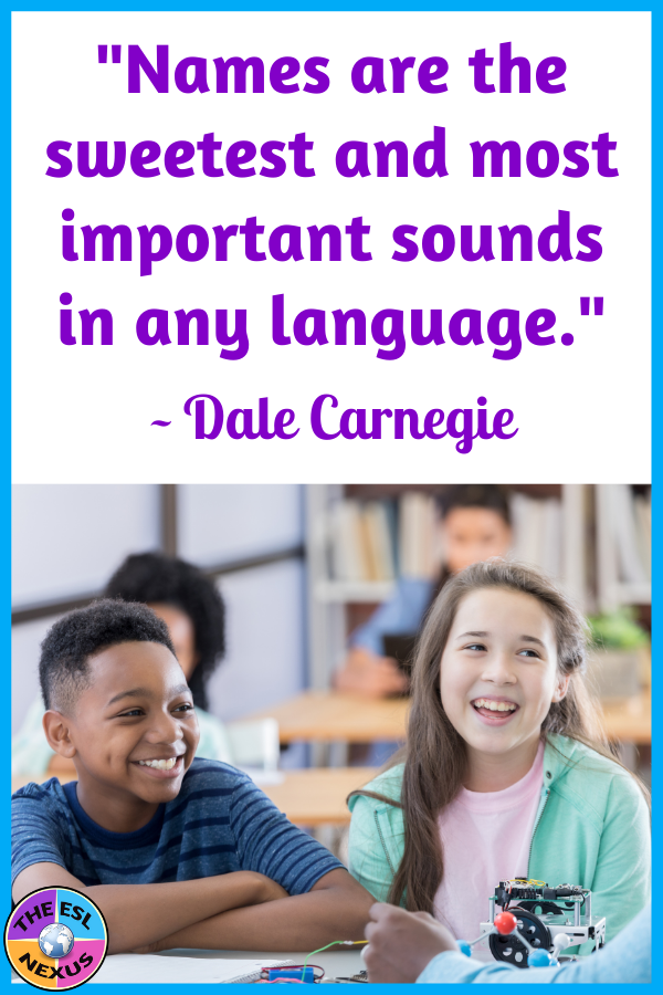 Quotation by Dale Carnegie about the importance of names