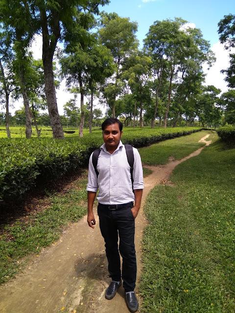 SumonSutradhar-at-tea-garden