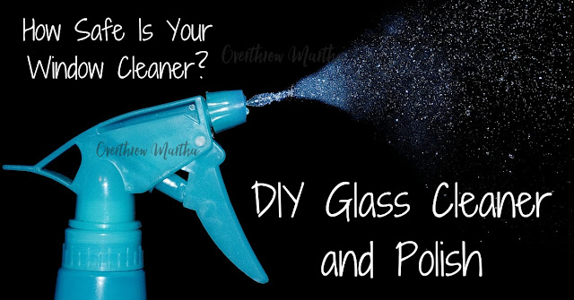 DIY Window Cleaner featuring Thieves Household Cleaner