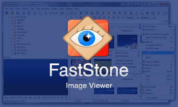 تحميل برنامج تعديل الصور FastStone Image Viewer