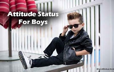 Best Attitude Status in Hindi For Boys