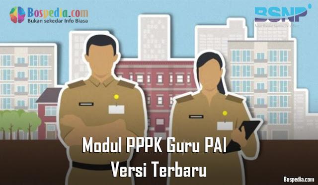 Modul PPPK Guru PAI (Pendidikan Agama Islam) Versi Terbaru