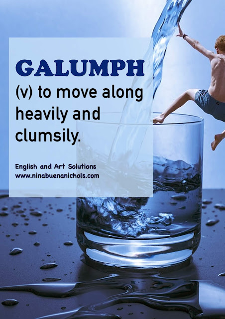 galumph meaning