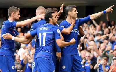 Highlight Chelsea 3-2 Arsenal, 18 Agustus 2018