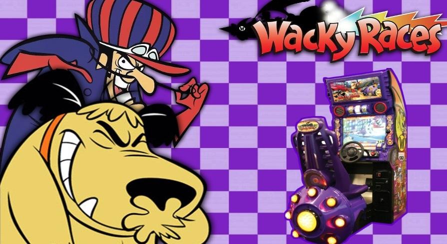 Wacky Races Arcade Dump