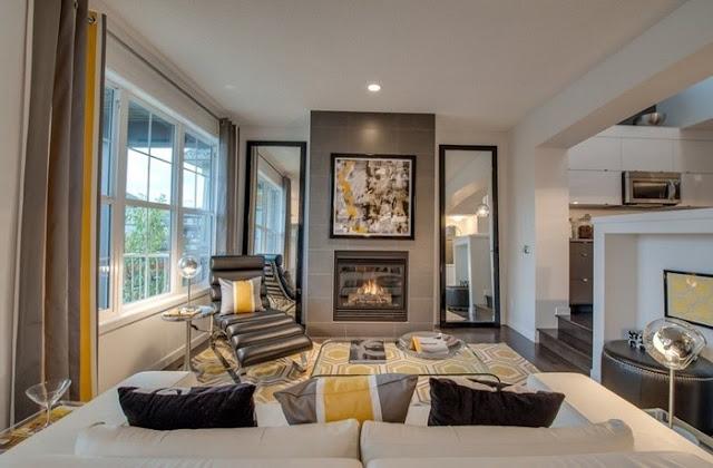 trang tri noi that nha ong tien nghi 1 Cách trang trí nội thất đẹp và tiện nghi cho phòng khách nhà ống