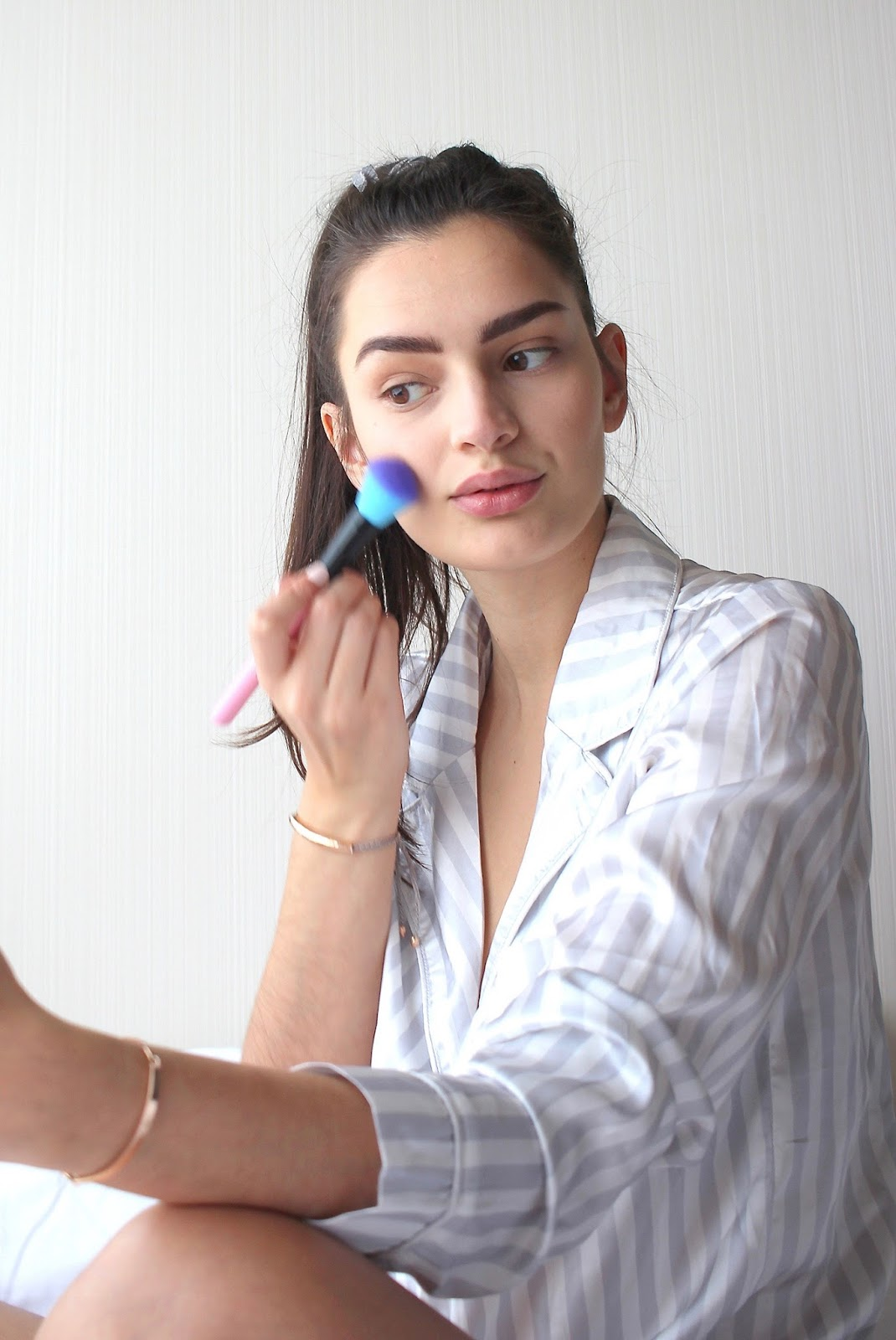 peexo spring makeup routine