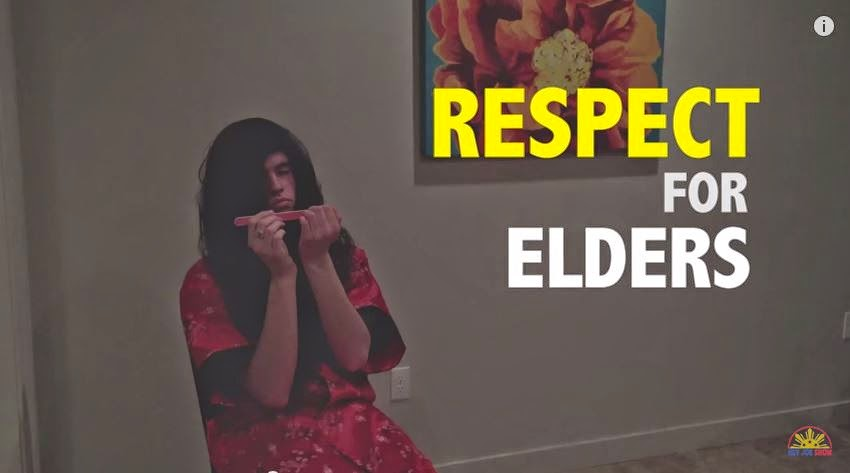 Signs you are Filipino: Respect for Elders