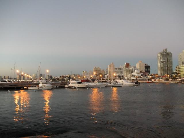 Vista da cidade Punta del Este Uruguai