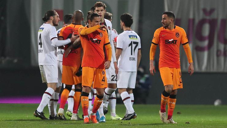 Galatasaray bir maçtan fazlasını kaybetti!