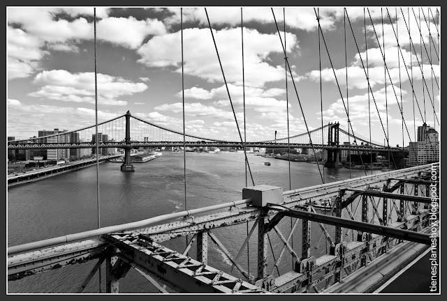 Vistas desde Puente de Brooklyn
