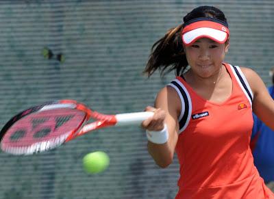 Hibino, tennis,