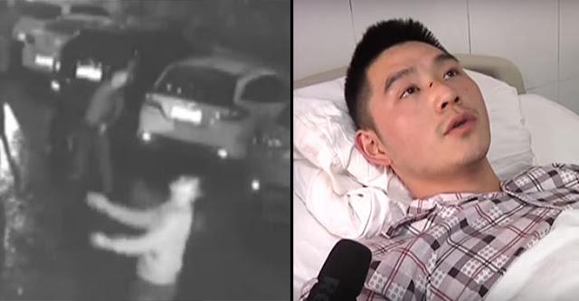 Héroe intentó atrapar a una mujer que cayó del piso 11 de un edificio; esto pasó…