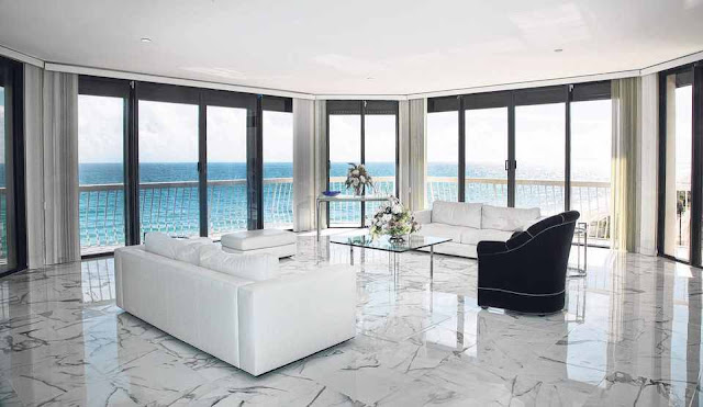 how to polish marble floors, polished white marble floor design