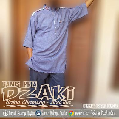 Baju Koko Pakistan Dzaki Katun Chamray