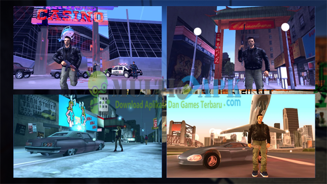 Game Grand Theft Auto (GTA) 3 HD Terbaru Versi 1.6 Apk+Data Mod For Android