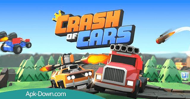 تحميل لعبة Crash of Cars Apk او تحطم السيارات مهكرة اخر اصدار
